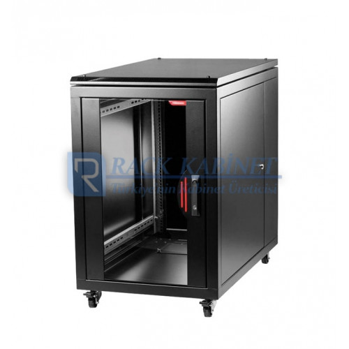16U SERVER RACK KABİNİ 60cm GENİŞLİ...